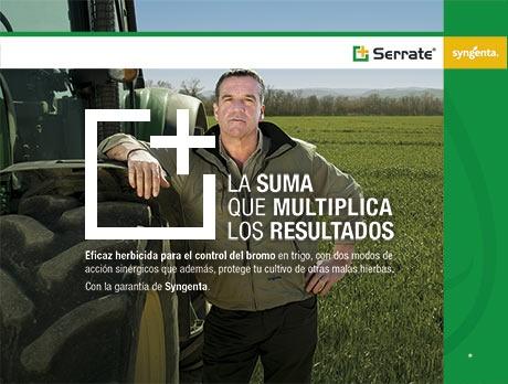 Serrate, la solución de Syngenta para el control de malas hierbas en cereal